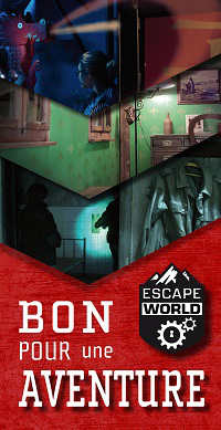 Bon pour une aventure Escape World